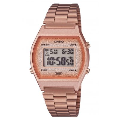 Casio B640WCG-5EF Vintage Edgy Digitaluhr Rose 4549526257339