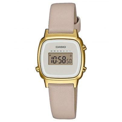 Casio LA670WEFL-9EF Vintage Mini Women's Digital Watch Beige/Gold 4549526252266