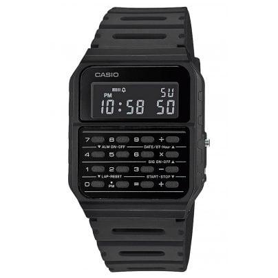Casio CA-53WF-1BEF Vintage Edgy Digital Watch with Calculator Black 4549526272745