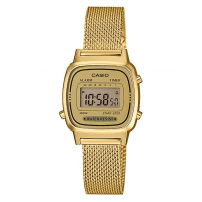 Casio LA670WEMY-9EF Digital-Damenuhr 4549526187865