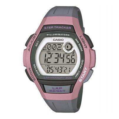 Casio LWS-2000H-4AVEF Digitale Armbanduhr für Damen mit Schrittzähler 4549526214219