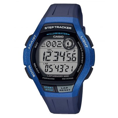 Casio WS-2000H-2AVEF Digital Mens´ Wristwatch with Step Tracker 4549526212376