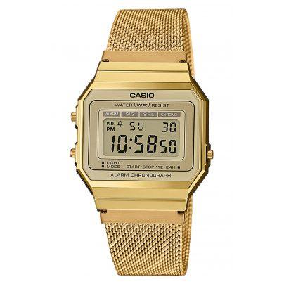 Casio A700WEMG-9AEF Vintage Damen-Digitaluhr 4549526220180
