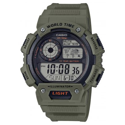 Casio AE-1400WH-3AVEF Digital Wristwatch 4549526224607