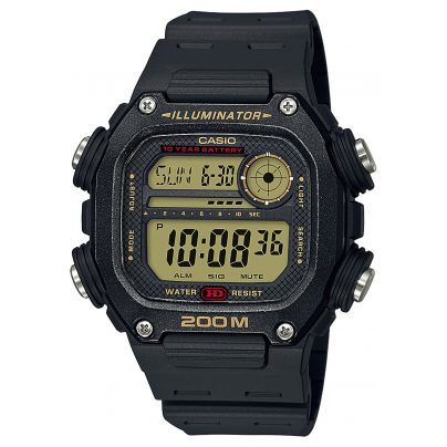Casio DW-291H-9AVEF Collection Men's Wristwatch Digital Black 4549526251276