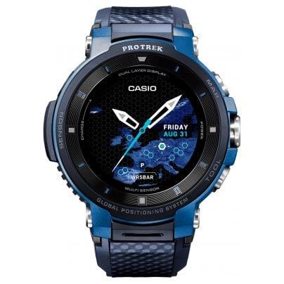 Casio WSD-F30-BUCAE Pro Trek Smart Outdoor-Uhr GPS Blau/Schwarz 4549526850554