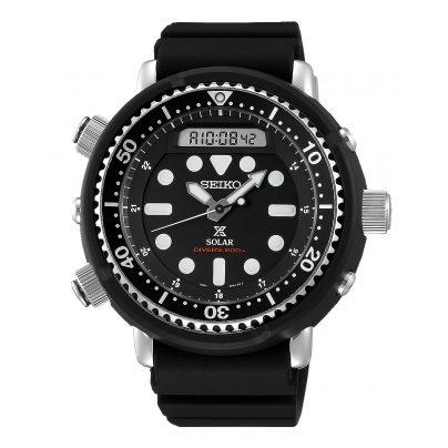 Seiko SNJ025P1 Prospex Sea Diver's Herren-Taucheruhr Solar 4954628230089