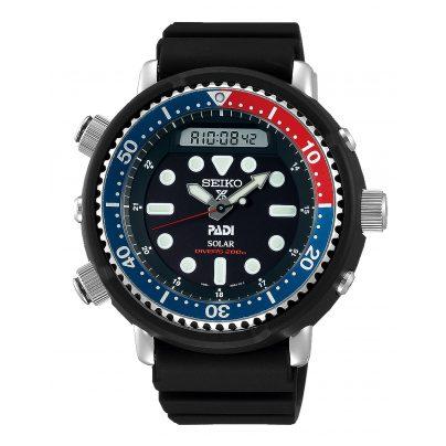 Seiko SNJ027P1 Prospex Sea Diver's Herrenuhr für Taucher Solar 4954628230096