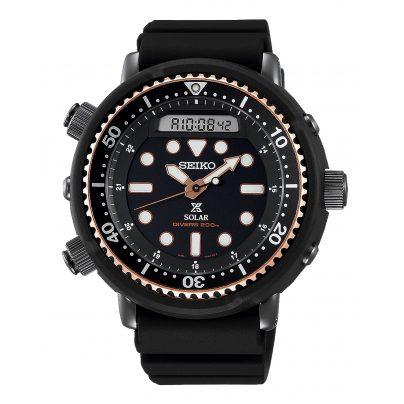 Seiko SNJ028P1 Prospex Sea Diver's Herrenuhr Solar 4954628230102