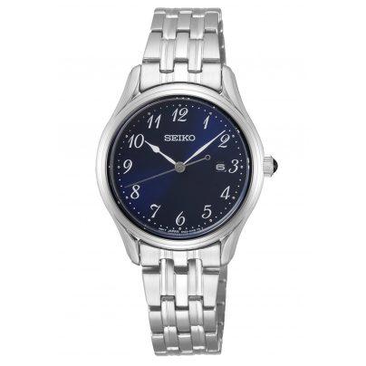 Seiko SUR641P1 Armbanduhr für Damen Edelstahl Blau 4954628233370