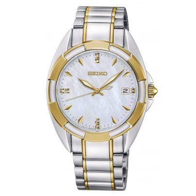 Seiko SKK886P1 Ladies' Watch Two-Colour with Sapphire Crystal 4954628225221