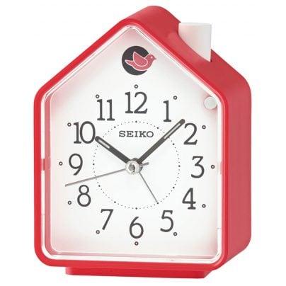 Seiko QHP002R Alarm Clock with Bird Sounds 4517228827679