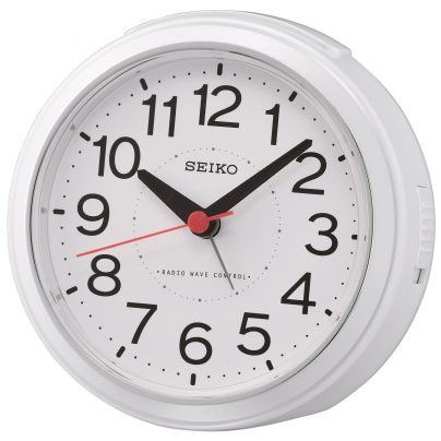 Seiko QHR026W Funkwecker Weiß 4517228835919