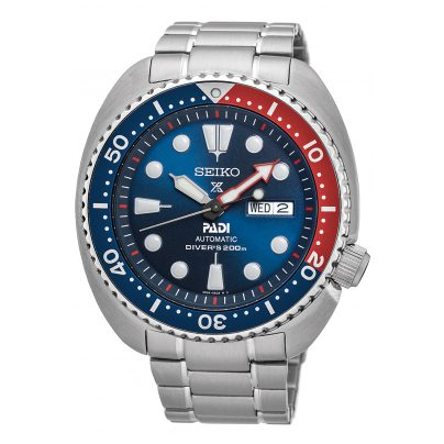 Seiko SRPA21K1 Prospex PADI Automatic Diver Watch Turtle 4954628204905