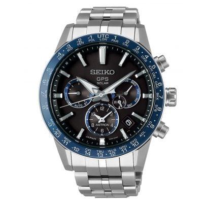 Seiko SSH001J1 Astron GPS Solar Herrenuhr Dual Time 4954628227096