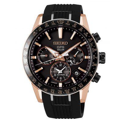 Seiko SSH006J1 Astron GPS Solar Herren-Armbanduhr Dual Time 4954628227119