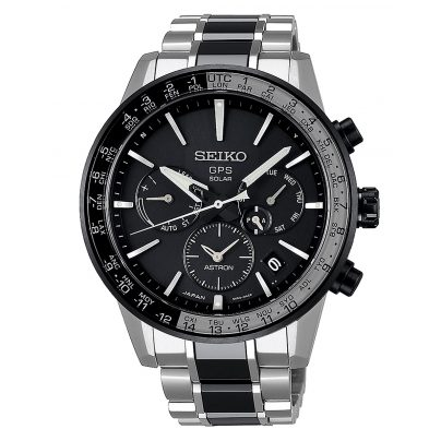 Seiko SSH011J1 Astron GPS Solar Men´s Watch Dual Time 4954628227140