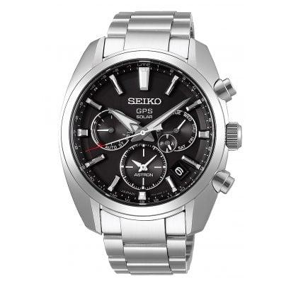 Seiko SSH021J1 Astron GPS Solar Herren-Armbanduhr Dual Time 4954628229762