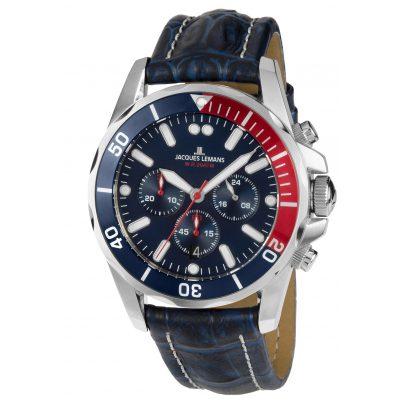 Jacques Lemans 1-1907ZB Herren Chronograph Liverpool Diver 4040662133360