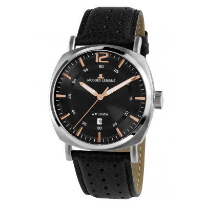 Jacques Lemans 1-1943A Herren-Armbanduhr Lugano 4040662135401