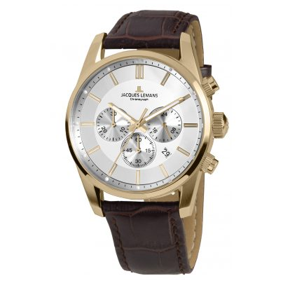 Jacques Lemans 42-6D Men's Watch Chronograph Classic 4040662137306