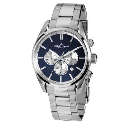 Jacques Lemans 42-6F Men's Wristwatch Chronograph Classic 4040662137320