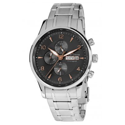 Jacques Lemans 1-1844K Herren-Chronograph London 4040662122425
