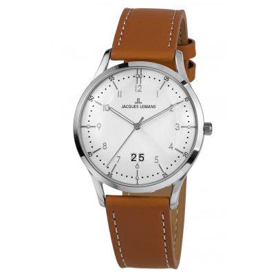 Jacques Lemans 1-2066B Herren-Armbanduhr Retro Classic 4040662156499