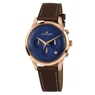 Jacques Lemans 1-2067G Unisex Uhr Retro Classic 4040662156604