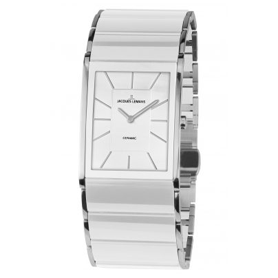 Jacques Lemans 1-1940B Ceramic Ladies´ Watch Dublin 4040662132738