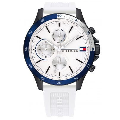 Tommy Hilfiger 1791723 Men's Watch Multifunction Bank White 7613272379328