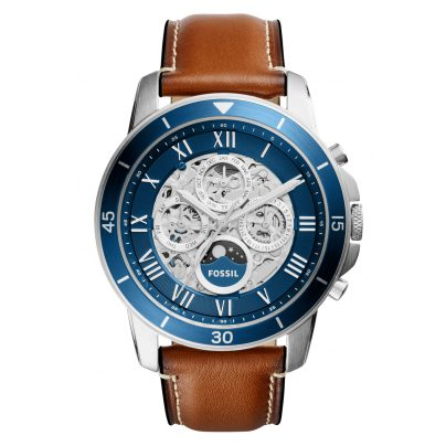 Fossil ME3140 Multifunction Mens Automatic Watch Grant Sport Brown 4053858817067