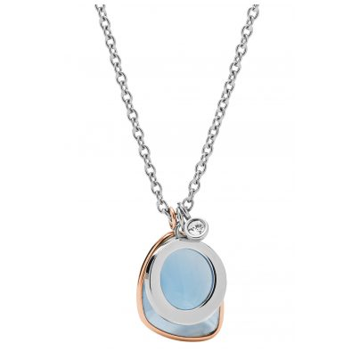 Fossil JF03076998 Damen-Halskette Unique Teardrop 4013496248685