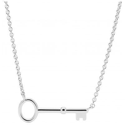 Fossil JFS00466040 Silber Damen-Halskette Vintage Key 4013496539561