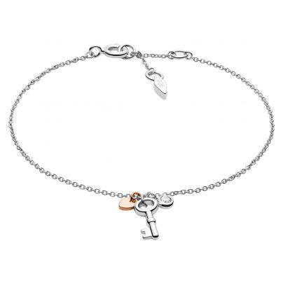 Fossil JFS00465998 Silver Ladies' Bracelet 4013496539554