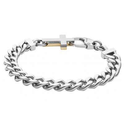Diesel DX1251040 Herren-Armband Kreuz bicolor 4048803099575