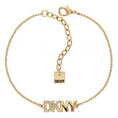 DKNY 5519998 Damen-Armband Pave Logo Pendant 9009655199986