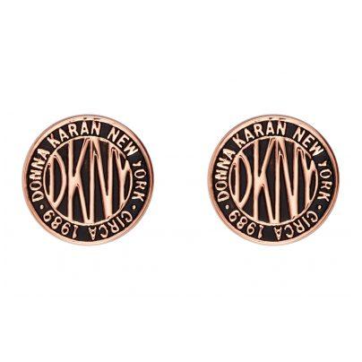 DKNY 5520033 Ohrstecker für Damen Logo Token 9009655200330