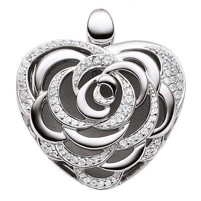 Viventy 890052 Silber Herz-Medaillon 4028543446389