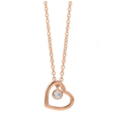 Viventy 779452 Ladies' Necklace with Heart 4045445152989
