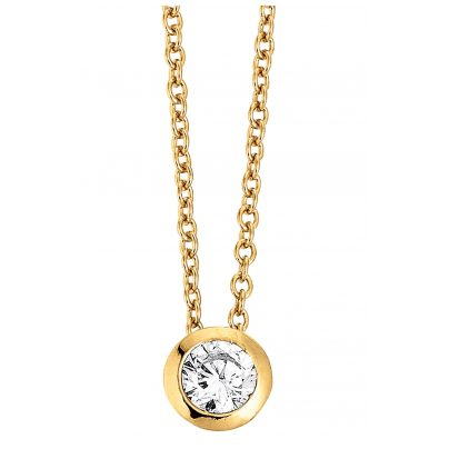 Viventy 781428 Damen-Collier Vergoldet 4043885270225