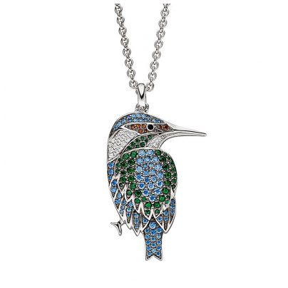Viventy 782582 Ladies´ Necklace Silver Kingfisher 4028543289405