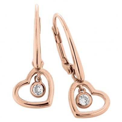 Viventy 779454 Ladies' Earrings with Heart 4045445152996