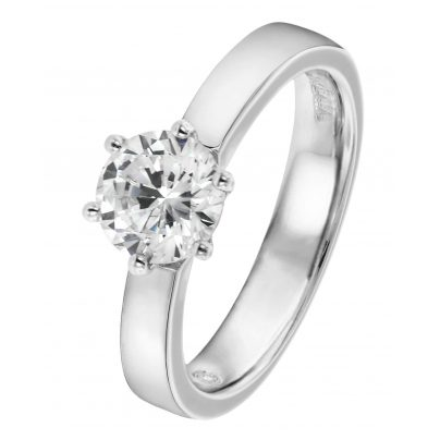 Viventy 696881 Engagement Ring Silver 925 Cubic Zirconia Ladies' Ring