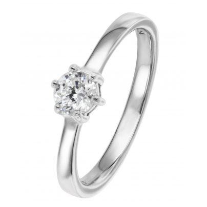 Viventy 769761 Verlobungsring Silber 925 Antragsring Zirkonia Damen-Ring