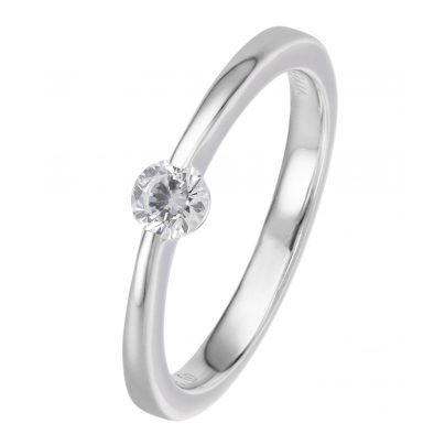 Viventy 775181 Engagement Ring Silver 925 Cubic Zirconia Women's Ring