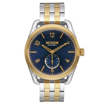 Nixon A950 1922 C39 Gold/Blue Sunray Herrenuhr 3608700747637