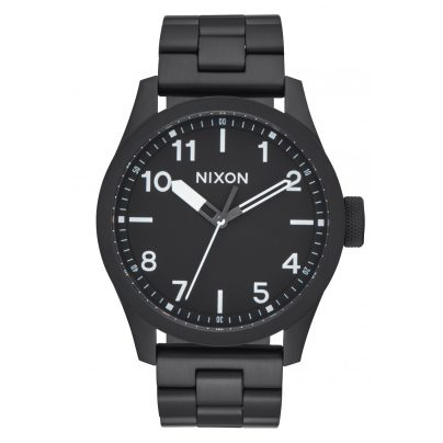 Nixon A974 756 Safari Black/White Herrenuhr 3608700773230