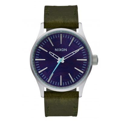Nixon A377 2302 Sentry 38 Damenuhr Purple/Olive 3608700746852