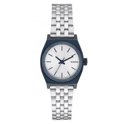 Nixon A399 1849 Small Time Teller Navy/Silver Damenuhr 3608700746913